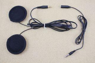 Motorcycle Helmet Speakers Stereo MP3 CD XM Radio iPod