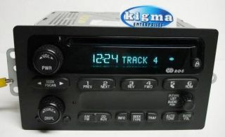 GMC Blazer Jimmy Sonoma S10 S15 2002 2003 CD Player 15091316 RDS Tested 1182FG