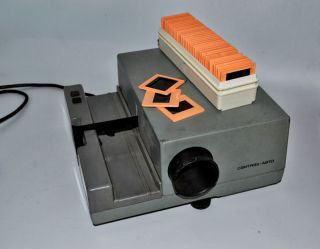 Vintage USSR Russian Soviet Slide Projectors Viewer Svityaz Auto Sliders 1970s