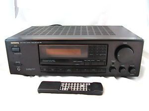 Onkyo TX 8410 R1 Audio Video Control Tuner Amplifier Quartz Synthesized Stereo