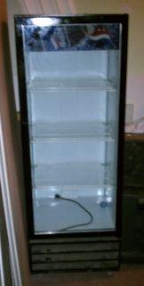 Pepsi Beverage Air 1 Door Display Cooler Refrigerator