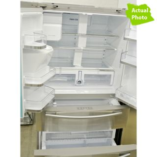 "Samsung 36"" RF4287HARS 28 CU ft 4 Door French Door Refrigerator 789Y 036725569713"
