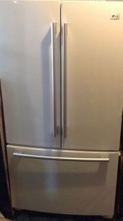 LG 25 CU ft White French Door Refrigerator Reg Price $1699 00