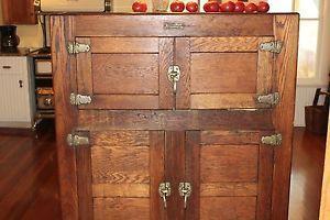 Antique Monroe Refrigerator Refurbished with Compressor