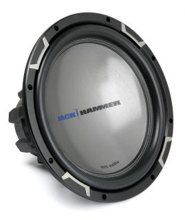 "MTX Jackhammer JH5512 04 12"" Single 4 Ohm Round Sub"