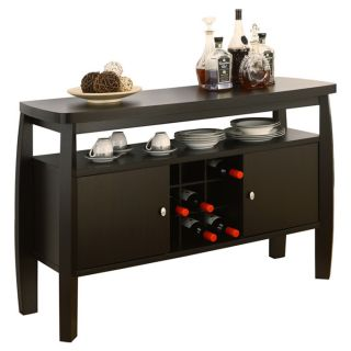 Liquor Cabinet Buffet Table Wine Cabinets Storage Rack Dining Room Furniture