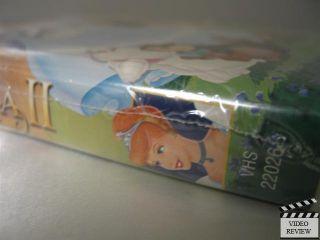 Cinderella II Dreams Come True VHS Clam Shell Walt Disney Home Video New 786936148367