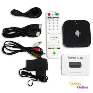 Android 4 2 Smart Internet WiFi TV Box Media Player HD 1080p Dual Core 3D