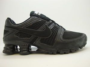 414941 010 Mens Nike Shox Turbo XI SL Black Running Sneakers Training