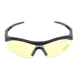 bf42221ca3f ... Yellow Len Sport Shooting Hunting Safety Glasses Protective Goggle ...