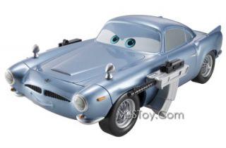 New Disney Pixar Cars 2 Gear Up Go Finn McMissile Spy Submarine Hydrofoil Hot