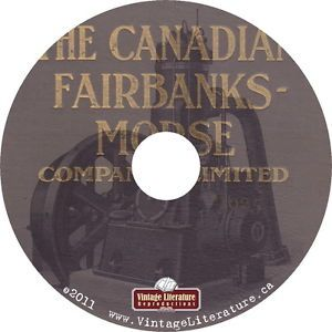 1925 Fairbanks Morse Catalog Railroad Machinery Engine Tools Scales on DVD