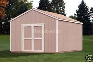 12x20 Gable Storage Shed Plans Buy It Now Get It Fast