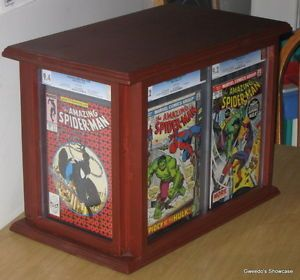 Big CGC Frame Statue Display Case Custom Comic Storage Holds Up to 43 Books