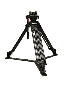 Bogen Manfrotto 501 Pro Video Head System w 525MVB Tripod Legs Spreader