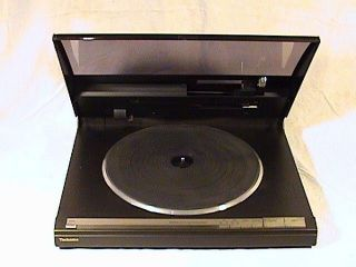 Technics SL AV500 Computer Control Linear Tracking Direct Drive Turntable
