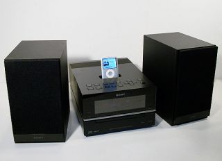 Sony CMTBX20I 50W Micro Hi Fi Shelf System w iPod Dock