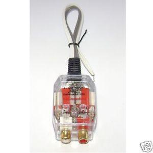 Car Stereo Radio Speaker Wire to RCA Line Converter