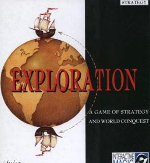 Exploration PC CD Age of Sail Strategy Simulation Game