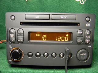 Nissan 06 08 350Z CD Radio Aux iPod SAT Audio Input 28185 CF40A New Panel