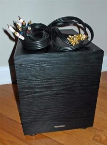 Paradigm SB 90 Passive Subwoofer with 2 Quality Cables