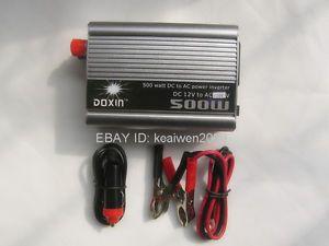 500W Inverter DC 12V to AC 110V for Solar Power System Solar Panel Charge Power