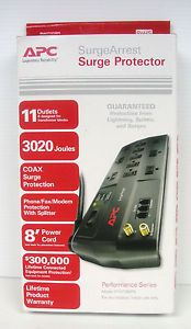 APC Surge Arrest Surge Protector Performance Series Model P11VT3MP6