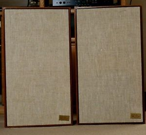 AR 2AX Vintage Acoustic Research Floor Speakers Used