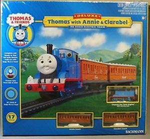 Bachmann HO Thomas w Annie Clarabel Train Set Ready to Run 00642