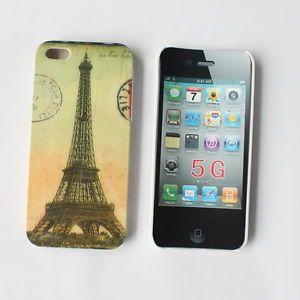 Famous Paris Eiffel Tower Hard Case Cover for Apple iPhone 5 5g 5S