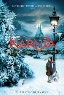 Chronicles of Narnia The Lion The Witch and The Wardrobe Movie Poster 27x40 B