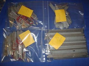Kato N Track Switches Accessories Lot 100's of Pieces Used Free Shipping 16 PIX
