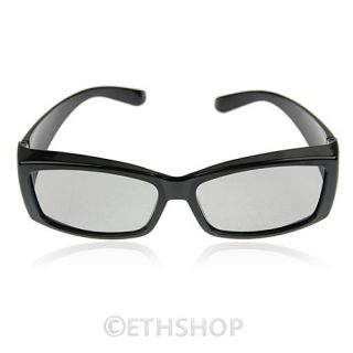 Circular Polarized Passive 3D Glasses Viewing 3D Ready Television Application UK