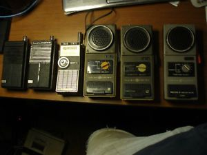 Vintage CB Walkie Talkie Solid State Lafayette General Electric Ranger Transiste