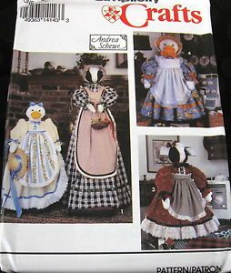 Andrea Schewe Vacuum Cleaner Sewing Machine Cover Pattern Cow GOOSE
