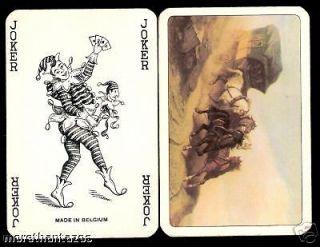 Nice Joker Playing Card Vintage RARE Argentina Belgium