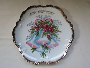 Happy Anniversary Plate