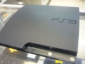 Sony PlayStation Slim 250GB PS3 CECH 2001B Black Video Game Console 250 GB Gamin