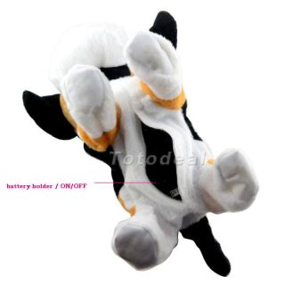 Funny Voice Control Electronic Plush Dog Interactive Puppy Toy Barking Walking