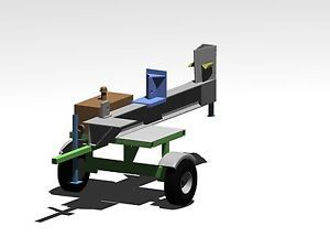 Wood Splitter 3 Pt Hitch On Popscreen
