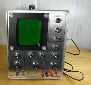 Vintage RCA Solid State Oscilloscope Model Wo 505A AC DC Input Works Great