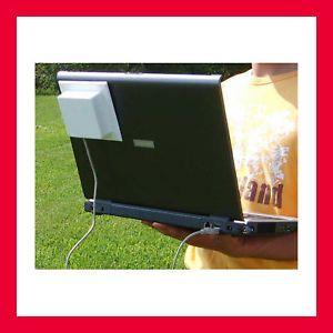 High Power Wireless USB Adapter Booster Antenna 802 11b G N WiFi Hotspot Locator