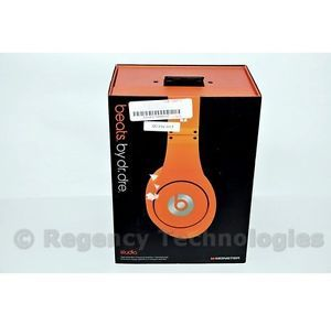 Monster Beats by Dr Dre Studio Headphones Orange