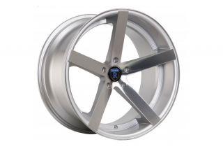 "20"" Lexus GS300 GS400 GS430 GS Rohana RC22 Concave Silver Staggered Wheels Rims"