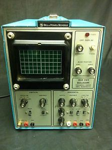 Bell Howell Schools Oscilloscope Model 10D 203 3 Solid State