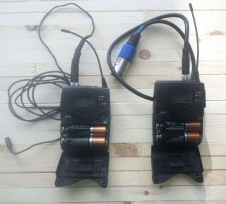 Sennheiser EW Series G3 Wireless Microphone System 556 608 MHz 615104153868