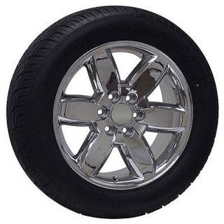 20 inch GMC Truck Chrome Rims Wheels Tires Yukon Denali Sierra