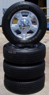 """2009 2013 Ford F150 17"""" Factory Alloy Wheels with Michelin Tires Set of 4"""