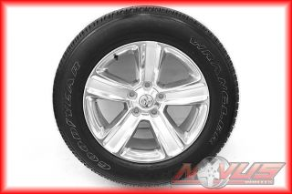 "20"" Dodge RAM 1500 Truck Dodge Durango Factory Wheels Goodyear Tires 22"