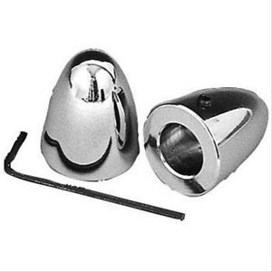 Chrome Wiper Post Covers Bullet Style Fits Chevy Ford Mopar Hot Rods